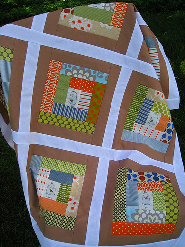 log cabin heather ross quilt