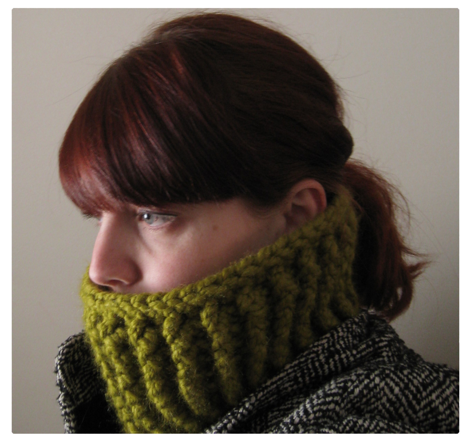 Baby It s Cold Outside! Crocheted Neckwarmer Tutorial ...