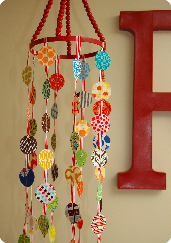 For The Love Of Polka Dots A Crib Mobile Tutorial Sew