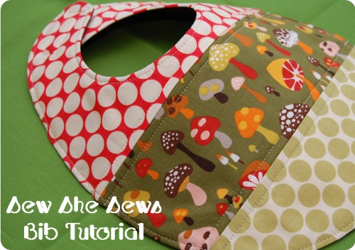 Quilted Patchwork Bib Pattern And Tutorial | Sew She Sews\'s