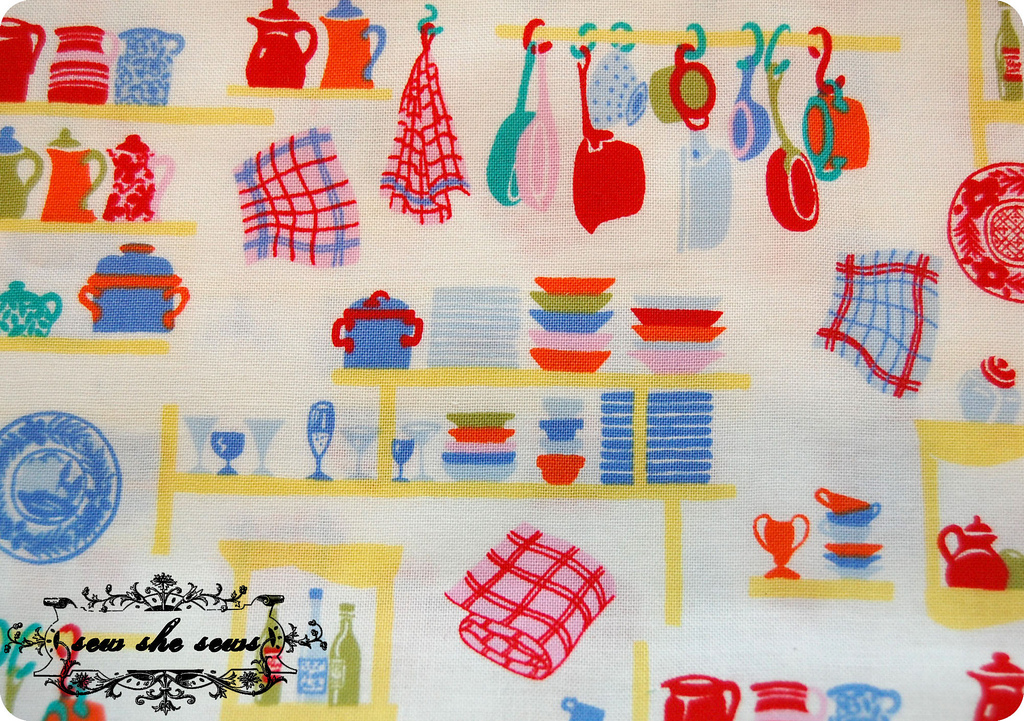 Vintage Kitchen Fabric Amazing Ideas