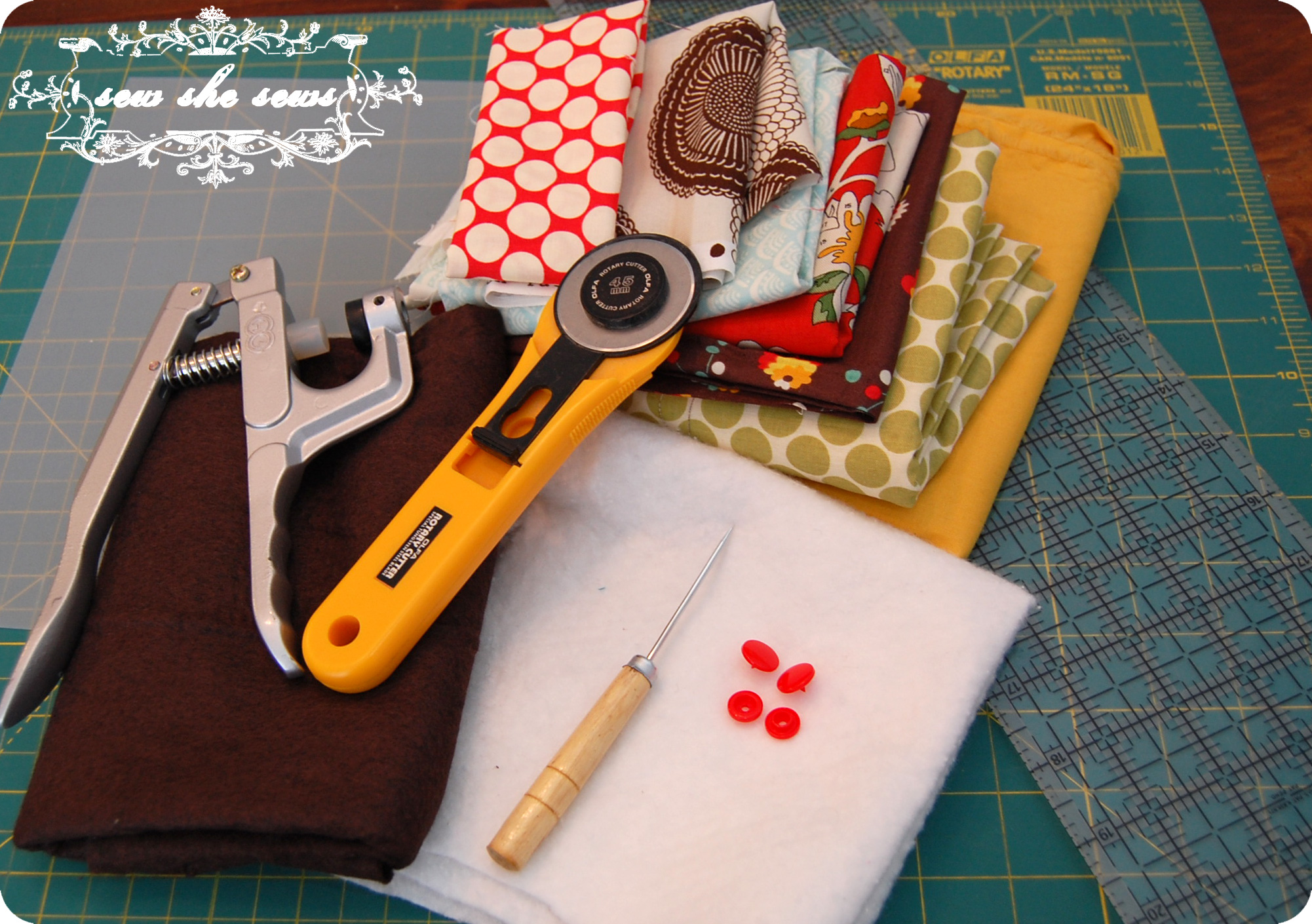 Quilted Needle Case Tutorial | Sew She Sews\'s